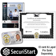 CERTIFIED PRIVATE SECURITY SPECIALIST and EXPERT) (CPSS & CPSE) CERTIFICATE