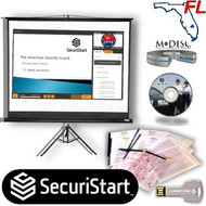 2020 FLORIDA SECURITY GUARD SCHOOL (DS) LICENSING KIT - 42-hour Narrated Class Presentation Software (NCPS) Version