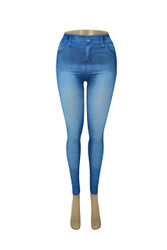 JEAN LEGGINGS 10 PACK STYLE 908 WHOLESALE