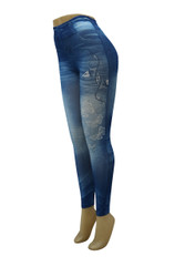 JEAN LEGGINGS 10 PACK  STYLE 913  WHOLESALE