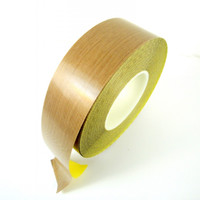 Teflon Coated Glass Fabric Tape 10 Mil - TapeJungle.com