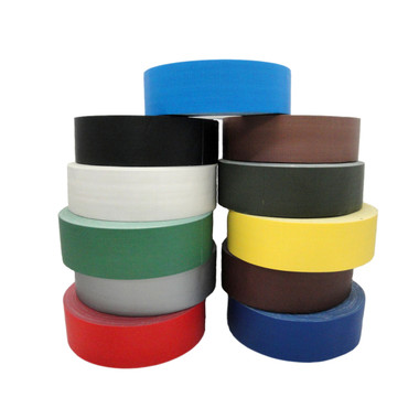 Gaffers Tape, Low Gloss (67680) - 12 Colors - By Case or By Roll - TapeJungle.com, The Tape Superstore - 877-284-4781.