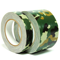 Camouflauge Duct Tape - Wholesale Prices - All Sizes - 1 inch to 49 inch width rolls - 25 Yards per Roll - Buy by the Roll or Case - Discount Prices for Camouflauge Tape by TapeJungle.com - Call 877-284-4781.