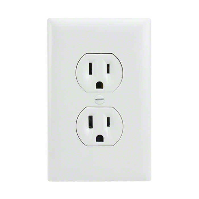 Electrical Outlet Hidden Nanny Camera