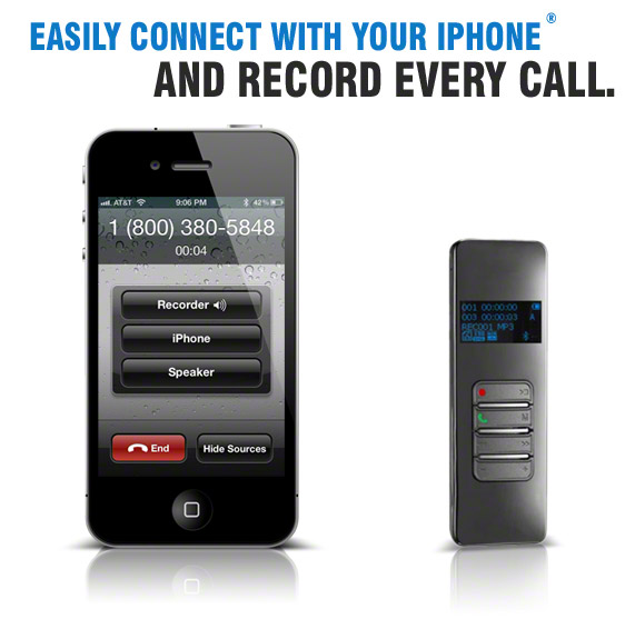 Easily Record Your Cell Phone Calls with the Bluetooth Call