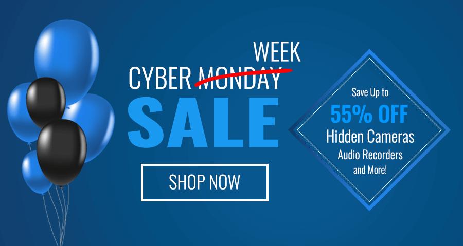 00e1d50e4 Cyber Monday / Cyber Week 2018 Spy Equipment Sale - SpygearGadgets
