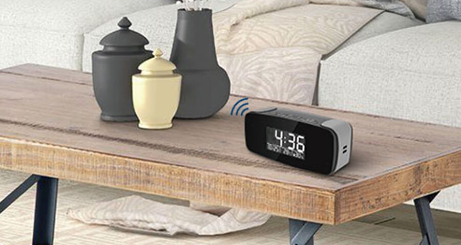 WiFi Nanny Camera Clock