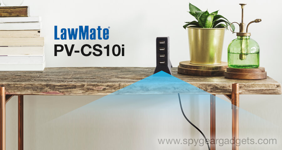 LawMate PV-CS10i USB Charging Station Hidden camera