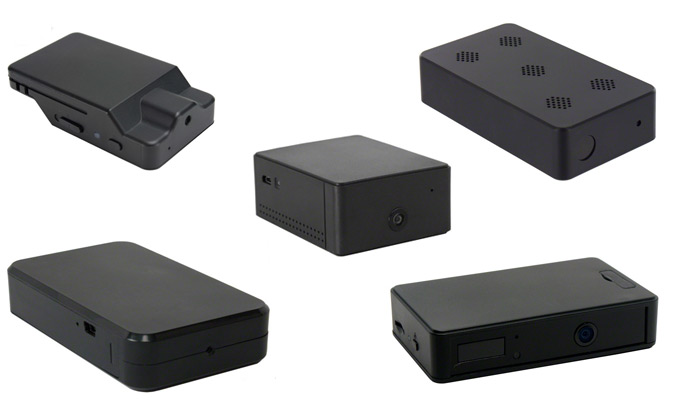 Black Box Hidden Camera