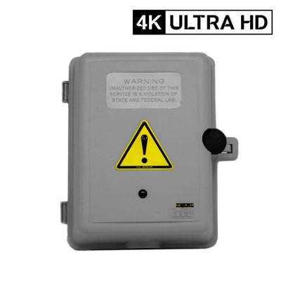4K Ultra HD Electrical  Box Hidden Camera