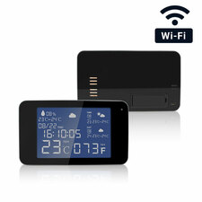 1080P HD Pro Grade WiFi Weather Station Hidden Camera with Night Vision