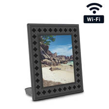 WiFi Streaming Photo Frame Hidden Camera