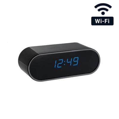 4K Ultra HD WiFi Mini Clock Camera Hidden Spy Camera with Night Vision