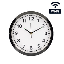 WiFi Streaming Wall Clock Hidden Camera