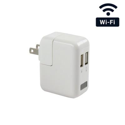 4K Ultra HD WiFi Streaming USB Wall Charger Hidden Spy Camera