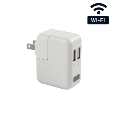 4K Ultra HD WiFi Streaming USB Wall Charger Hidden Spy Camera