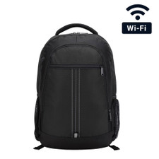 1080P HD Pro Series WiFi Backpack Hidden Nanny Camera with Long Life Battery