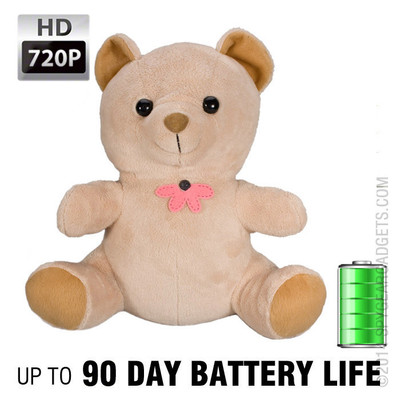 XtremeLife Teddy Bear Hidden Camera