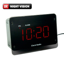 720P HD Clock Radio Hidden Camera
