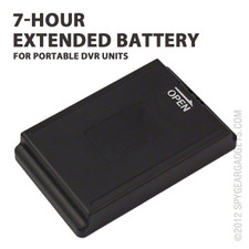Extended 7-Hour Battery for Portable DVR Units