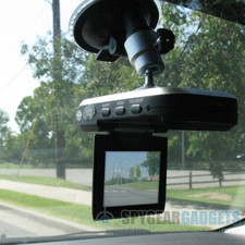 In Car View of Car Camera