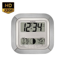 720P HD Motion Activated Atomic Clock Hidden Camera