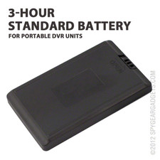 Standard Battery for Portable DVR Units