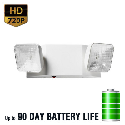 720P HD Emergency Backup Light Hidden Spy Camera