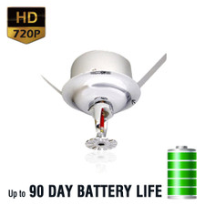 720P HD Sprinkler Head Hidden Spy Camera