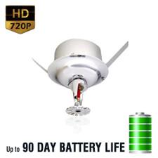 720P HD Sprinkler Head Hidden Spy Camera
