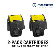 2-Pack Air Cartridges for TASER® M26C™ and X26C™