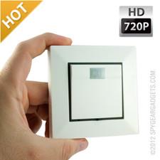 720P Wall Switch Hidden Camera