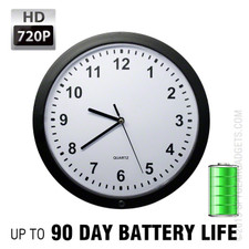 XtremeLife 720P HD Wall Clock Hidden Camera