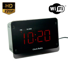 Alarm Clock Night Vision WiFi Hidden Camera