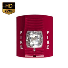 720P HD Motion Activated Fire Alarm Hidden Camera with Up to 90 Day Battery Life