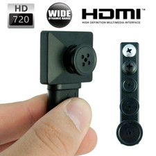 720P HD button Camera