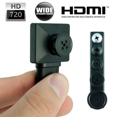 720P HD button Camera
