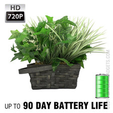 XtremeLife 720P HD Plant Hidden Camera