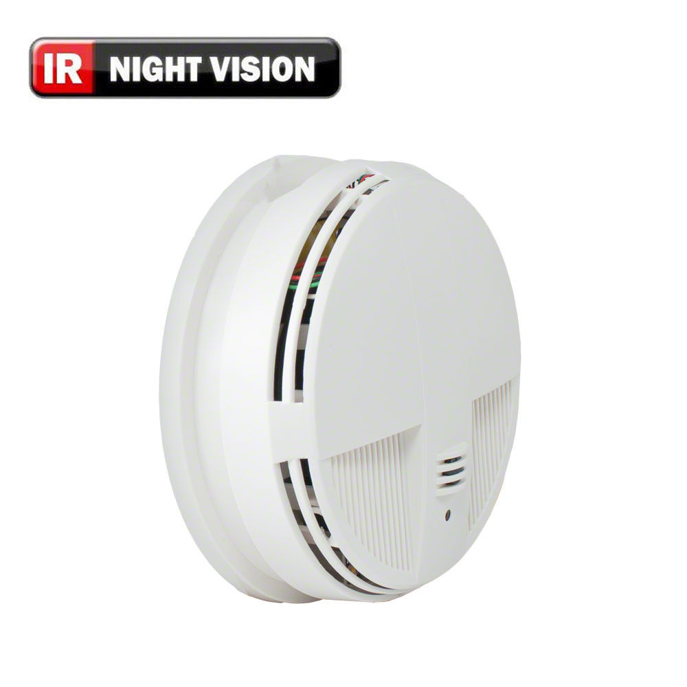 Xtremelife 720p Hd Smoke Detector Hidden Spy Camera With Night
