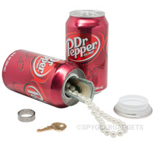 Dr Pepper Soda Can Diversion Safe