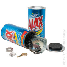Ajax Bleach Can Diversion Safe