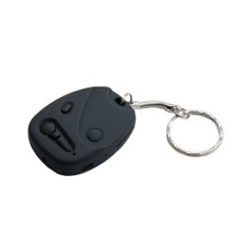 720P HD Car Keychain Remote Key Fob Hidden Spy Camera
