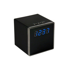 1080P HD Motion Activated Cube Clock Hidden Spy Camera