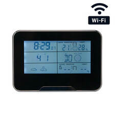 WiFi Weather Clock Hidden Camera