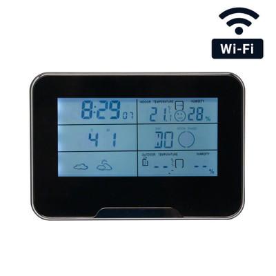 WiFi Weather Clock Hidden Camera
