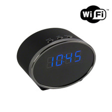 1080P HD WiFi Mini Desk Clock Hidden Camera