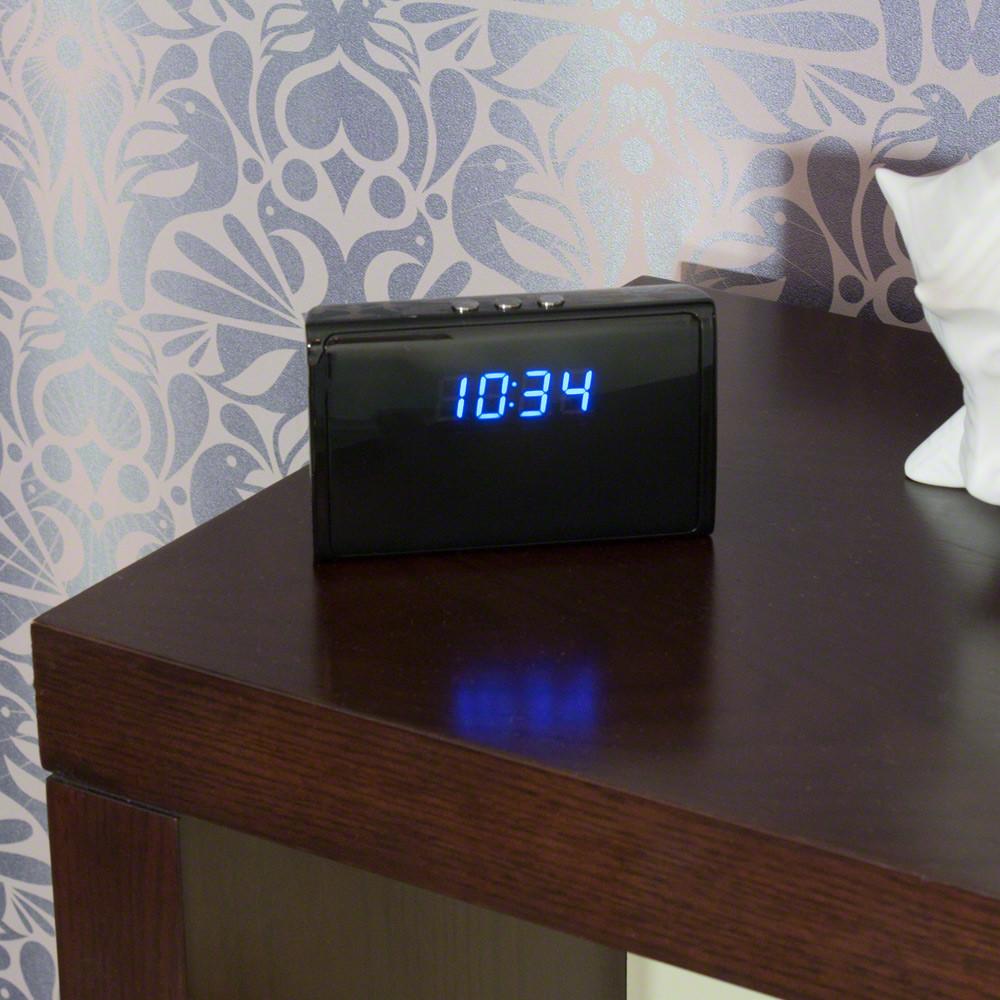 Hidden Camera Desk Clock Camera