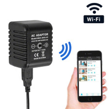 WiFi Streaming USB Wall Charger Hidden Caera