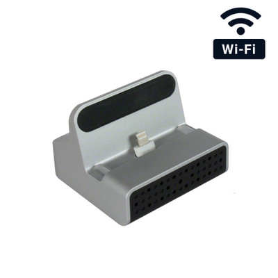 WiFi Charging Dock Hidden Camera