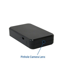 Black Box Hidden Camera Pinhole Lens